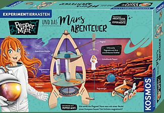 KOSMOS 606077 Pepper Mint und das Mars-Abenteuer Experimentierkasten, Mehrfarbig