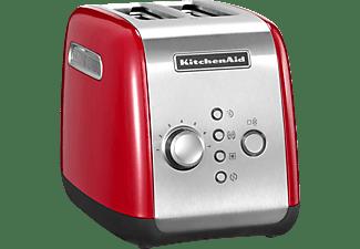KITCHENAID 5KMT221EER Toaster Rot (1100 Watt, Schlitze: 2)