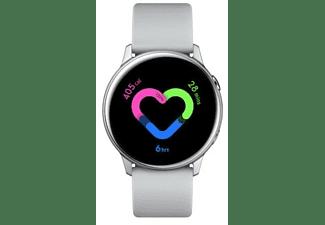 Smartwatch - Samsung Galaxy Watch Active Plata, Wi-Fi, Bluetooth 4.2, NFC, GPS, GLONASS, Galileo