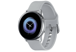 Smartwatch - Samsung Galaxy Watch Active Plata, Wi-Fi, Bluetooth 4.2, NFC, GPS, GLONASS, Galileo