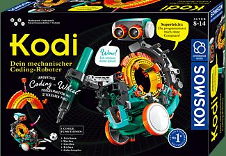KOSMOS 620042 Kodi - Dein mechanischer Coding-Roboter Experimentierkasten Mehrfarbig