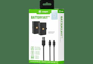 SNAKEBYTE XBOX ONE BATTERY:KIT BLACK, wiederaufladbare Batterie, Schwarz