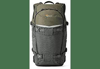 Mochila -  LOWEPRO Flipside Trek BP 350 AW, Verde y Gris