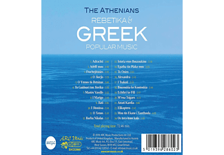 The Athenians - Rebetiko & Greek Popular Music  - (CD)