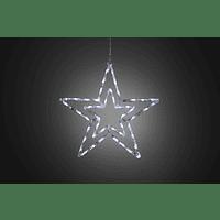 KONSTSMIDE LED Acryl Stern, 48 LED Leuchtdekoration,  Transparent,  Kaltweiß