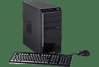 CAPTIVA I49-591, Gaming PC mit Celeron® Prozessor, 16 GB RAM, 240 GB SSD, 1 TB HDD, GeForce® GTX 1650, 4 GB