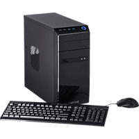 CAPTIVA Gaming I48-620, Gaming PC, Celeron® Prozessor, 16 GB RAM, 240 GB SSD, 1 TB HDD, Radeon™ RX 550, Schwarz