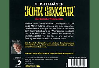 Sinclair John - 133/Blutige Weihnachten  - (CD)