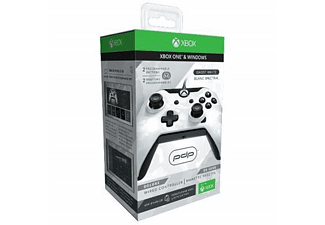 Mando Xbox One - PDP Mando Xbox One, Con cable, Vibration feedback, Camo Blanco