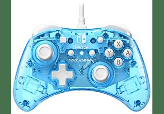 Mando - Nintendo Switch, PDP Mando - Mini Con Cable Rock Candy Azul Glow