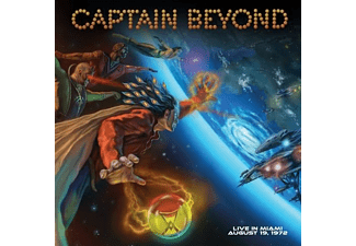 Captain Beyond - LIVE IN MIAMI- AUG. 19, 1972  - (CD)
