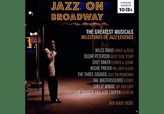 VARIOUS - Jazz On Broadway-Box Set-  - (CD)