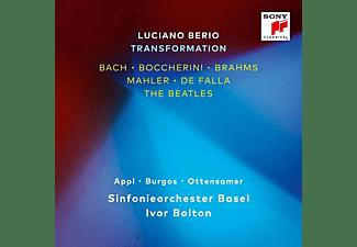 Benjamin Appl, Sophia Burgos, Daniel Ottensamer, Sinfonieorchester Basel - Luciano Berio-Transformation  - (CD)