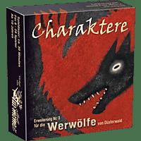 ASMODEE Die Werwölfe von Düsterwald Charaktere Spiel, Mehrfarbig