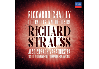 Riccardo Chailly, Lucerne Festival Orchestra - R.STRAUSS: ALSO SPRACH ZARATHUSTRA:  - (CD)