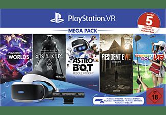 SONY PlayStation VR Mega Pack 2: PlayStation VR, PlayStation Camera, 5 Spiele (VOUCHER) Virtual Reality Set