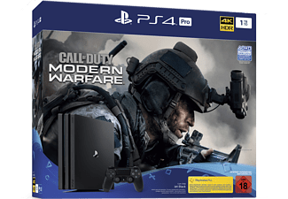 SONY PS4 PRO 1TB Jet Black - Call of Duty: Modern Warfare Bundle