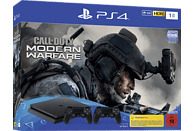 SONY PS4 1TB Jet Black + 2 Controller - Call of Duty: Modern Warfare Bundle