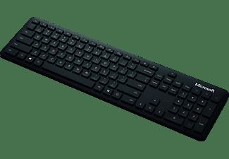 MICROSOFT Tastatur, Bluetooth, schwarz (QSZ-00006)