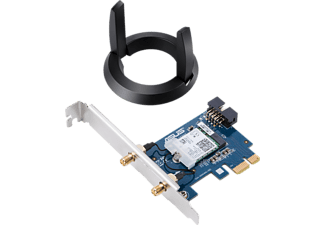 ASUS WLAN Adapter PCE-AC58BT, 2.4GHz/5GHz WLAN, PCIe x1 (90IG04S0-MM0R10)