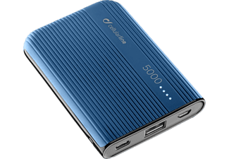CELLULAR LINE PowerTank 5000 - Powerbank (Bleu)