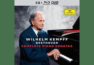 Wilhelm Kempff - COMPLETE BEETHOVEN SONATAS (8CD+1BL  - (CD + Blu-ray Audio)