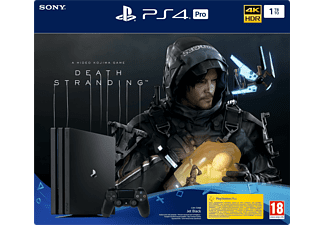 PLAYSTATION PS4 Pro 1 TB Death Stranding Bundle Noir