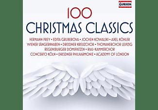 Thomanerchor Leipzig, Kowalski, Gruberova, Prey - 100 Christmas Classics  - (CD)