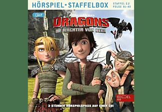 Dragons-die Wächter Von Berk - Die Wächter von Berk-Staffelbox 2.2  - (MP3-CD)