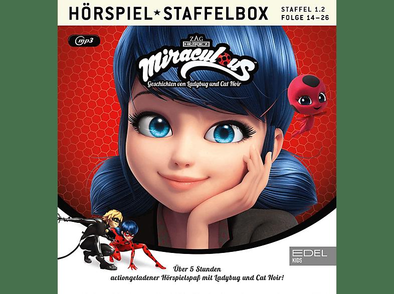 Miraculous - 014-026 - MIRACULOUS 1.2.STAFFEL BOX - (MP3-CD)