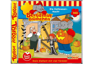Various - Benjamin Blümchen (143) - Die Halloween-Nacht  - (CD)