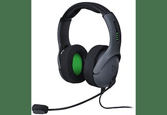 Auriculares con cable - PDP VL50, Diadema ajustable, Con micrófono, Especial Xbox One, Gris