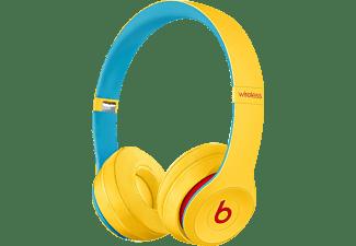BEATS Solo 3 Club Collection, On-ear Kopfhörer Bluetooth Clubgelb