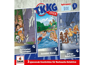 Tkkg Junior - 001/3er-Box (Folgen 1,2,3)  - (CD)