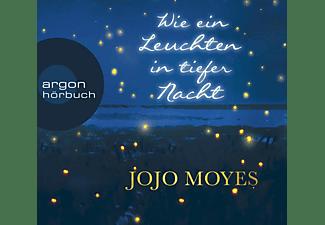 Luise Helm, Jojo Moyes - Wie Ein Leuchten In Tiefer Nacht  - (MP3-CD)