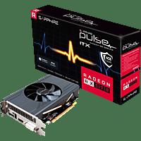 SAPPHIRE PULSE RX 570 ITX 4GB (11266-34-20G) (AMD, Grafikkarte)