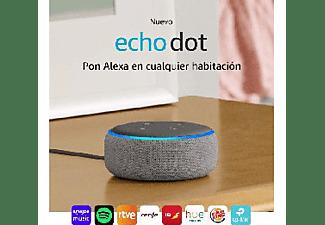 Altavoz inteligente con Alexa - Amazon Echo Dot (3ª Gen), Controlador de Hogar, Gris