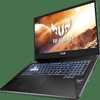 ASUS TUF Gaming  (FX705DU-AU121T), Gaming Notebook mit 17,3 Zoll Display, R7 Prozessor, 16 GB RAM, 512 GB SSD, GeForce GTX 1660Ti, Stealth Black
