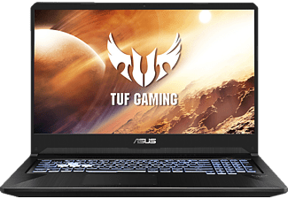 ASUS TUF Gaming  (FX705DU-AU121T), Gaming Notebook mit 17,3 Zoll Display, AMD Ryzen™ 7 Prozessor, 16 GB RAM, 512 GB SSD, GeForce GTX 1660Ti, Stealth Black