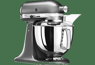 KITCHENAID 5KSM175PSEMS Küchenmaschine Medallion Silber (Rührschüsselkapazität: 4,8 Liter, 300 Watt)