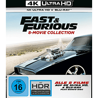 Fast & Furious - 8-Movie Collection [4K Ultra HD Blu-ray]