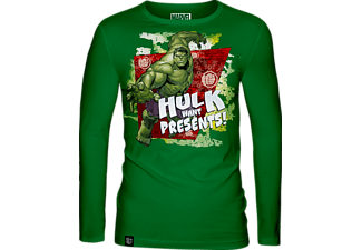 Marvel - X-mas Hulk Long Sleeve - XL - póló