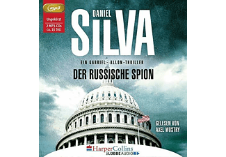 Daniel Silva - Der russische Spion: Ein Gabriel-Allon-Thriller  - (CD)