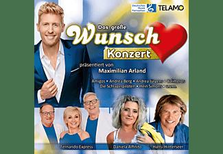 VARIOUS - GROSSE WUNSCHKONZERT PRÄS VON MAXIMILIAN ARLA [CD]