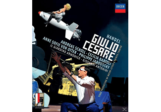 Andreas Scholl, Cecilia Bartoli, Philippe Jaroussky, Anne Sofie Von Otter - Händel: Giulio Cesare  - (Blu-ray)