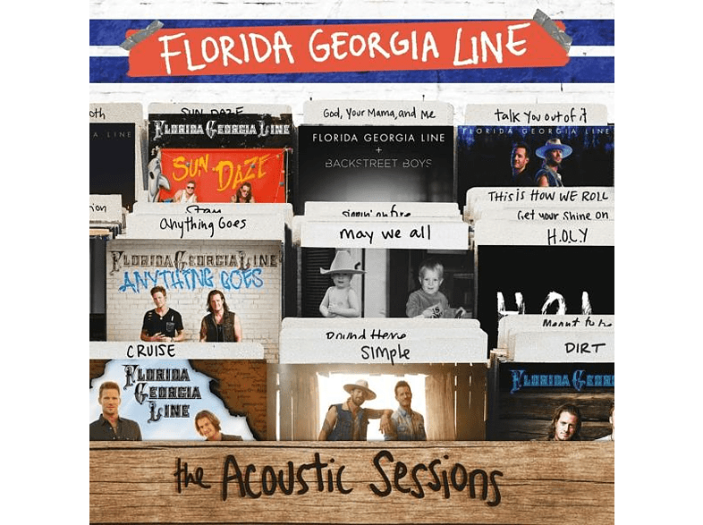Florida Georgia Line - THE ACOUSTIC SESSIONS [CD]