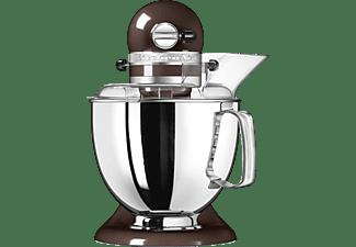 KITCHENAID 5KSM175PSEOB Artisan Küchenmaschine Onyx Schwarz (Rührschüsselkapazität: 3 Liter, 300 Watt)