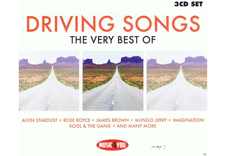 VARIOUS - Drivings Songs - Music4You  - (CD)