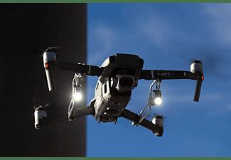 ROBOTERWERK M.O.N.A. Mavic Dual: doppelte LED Beleuchtung für DJI Mavic Pro, Mavic 2, 760 Lumen, neigbar Scheinwerfer für Drohnen Schwarz/Silber