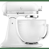KITCHENAID 5KSM156EFP Artisan Küchenmaschine Weiß 300 Watt